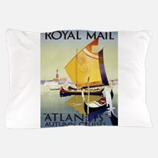 Vintage poster - Atlantis Pillow Case