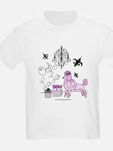 Funny Pink poodle T-Shirt
