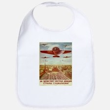 Vintage poster - Russian plane Bib