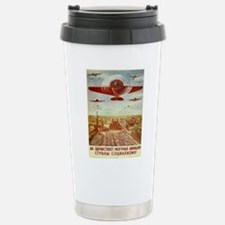 Vintage poster - Russia Stainless Steel Travel Mug