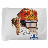 Santa fe train Pillow Sham