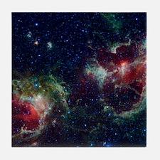 Heart and Soul Nebula Tile Coaster