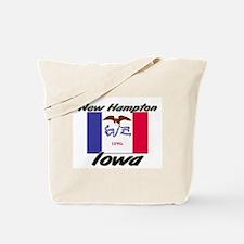 New Hampton Iowa Tote Bag
