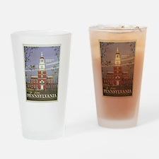 Vintage poster - Pennsylvania Drinking Glass