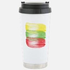 lithuania flag lithuani Travel Mug