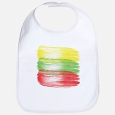 lithuania flag lithuanian Bib