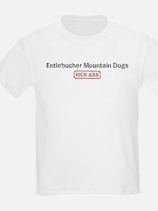 Entlebucher Mountain Dogs Kic T-Shirt