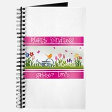 Plant Kindness Gather Love Journal