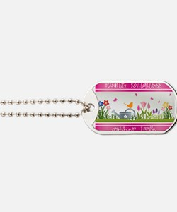 Plant Kindness Gather Love Dog Tags