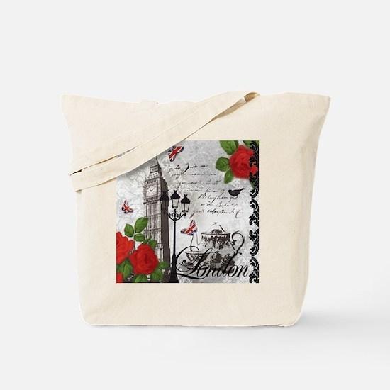 Cute Big ben Tote Bag
