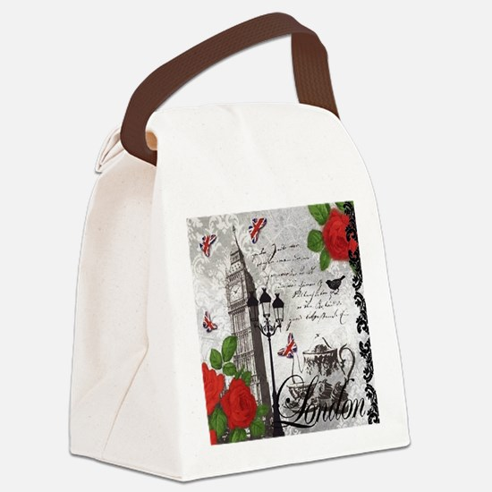 Unique Ben Canvas Lunch Bag