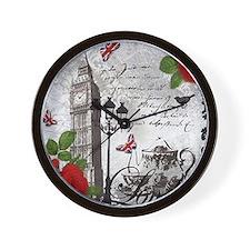 Cute United kingdom london Wall Clock