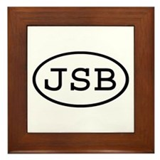 JSB Oval Framed Tile
