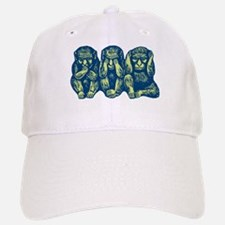 See Hear Speak No Evil Monkey Hat