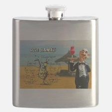 Blue Hawaii (Beach) Flask