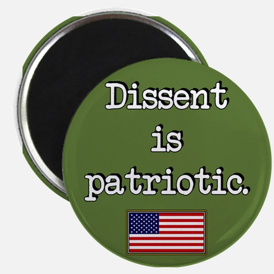 Dissent Is Patriotic Magnet