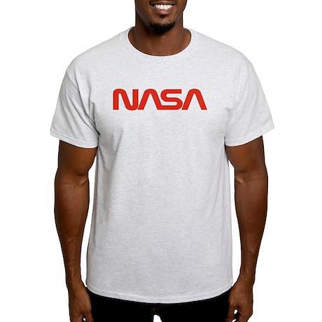 NASA Worm Logo Light T-Shirt