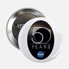 """NASA @ 50! 2.25"""" Button"""