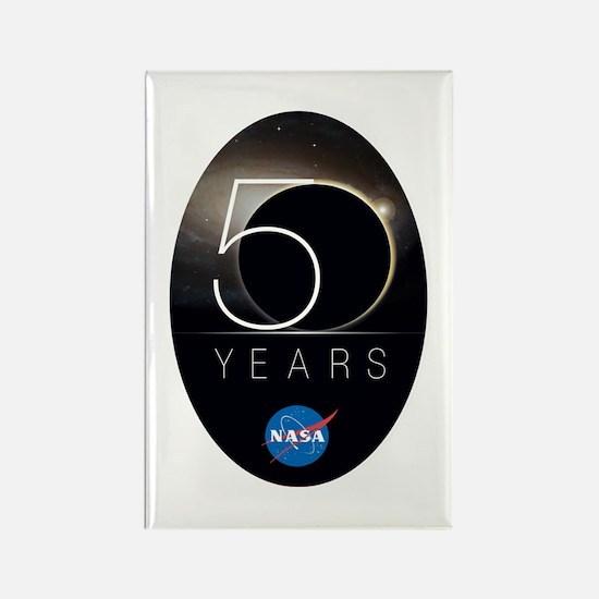 NASA @ 50! Rectangle Magnet