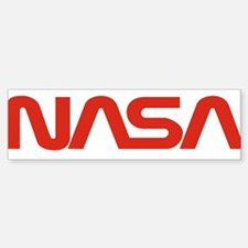 NASA Worm Logo Bumper Bumper Sticker