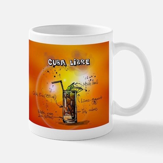 Cuba Libre (Orange) Mugs
