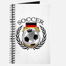 Germany Soccer Fan Journal