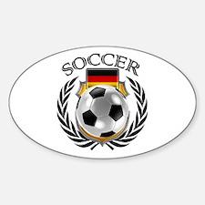 Germany Soccer Fan Decal