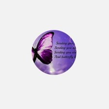 butterfly poem Mini Button (10 pack)