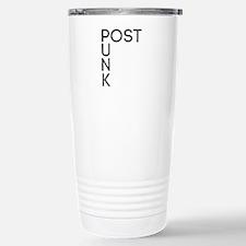 Post Punk Stainless Steel Travel Mug