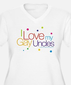 gayUncles-new.jpg Plus Size T-Shirt