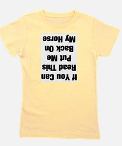 Unique Cowgirl Girl's Tee