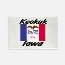 Keokuk Iowa Rectangle Magnet