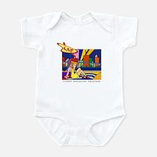 Cuban American Princess Infant Bodysuit