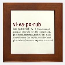 Vivaporub Framed Tile