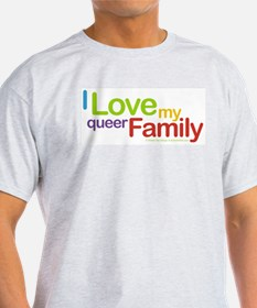 """""""I Love My Queer Family"""" Kids T-Shirt"""