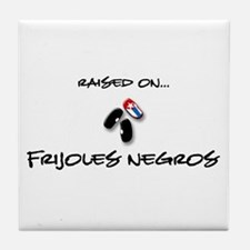 Raised on... Frijoles Negros Tile Coaster