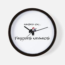 Raised on... Frijoles Negros Wall Clock