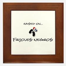 Raised on... Frijoles Negros Framed Tile
