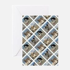 BEACH DOGS Greeting Cards