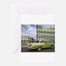 Cool Vintage cuba Greeting Card