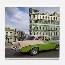 Cute Vintage cars Tile Coaster