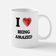 I Love BEING AMAZED Mugs