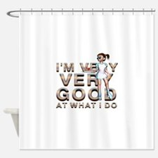 Good Waitress Shower Curtain