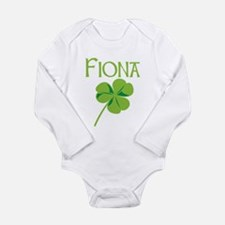 Cute First saint patricks day Long Sleeve Infant Bodysuit