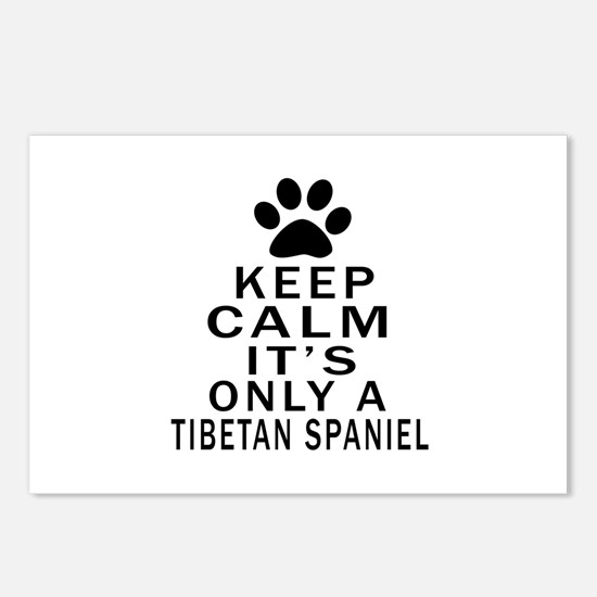 Keep Calm And Tibetan Spa Postcards (Package of 8)