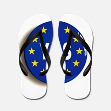 Yes to the EU - Stay in the European Un Flip Flops