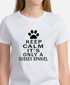 Keep Calm And Sussex Spaniel Tee