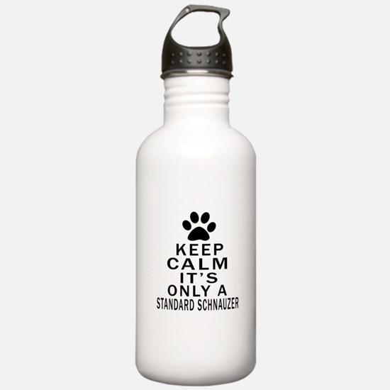Keep Calm And Standard Water Bottle