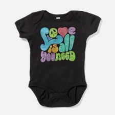 Cute Love Baby Bodysuit