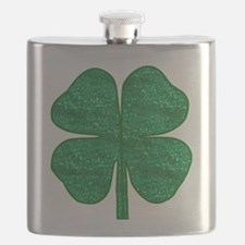 Unique St patricks day shamrock Flask